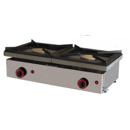 Plancha Cocina Gas | Cocina Gas 2 Fuegos Con Plancha Opcional Subconclimas